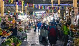 San Pedro Market/Cusco/Peru/07-14-2017 Fotografering för Bildbyråer