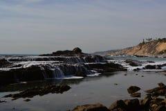 San Pedro, piscines du sud de marée de CA Photos stock