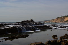 San Pedro, Southern CA Tide Pools Stock Photos