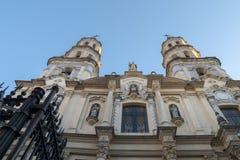 San Pedro Telmo Church, de buurt van San Telmo, Buenos royalty-vrije stock foto's