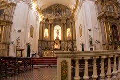 San Pedro Telmo kościół, Buenos Aires, Argentyna Zdjęcia Stock