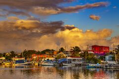 Free San Pedro Town, Belize Stock Photos - 213812833