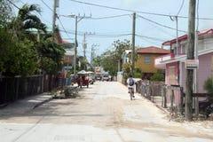 San pedro town Stock Photo