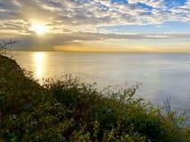 San Pedro wschód słońca Kalifornia USA Obraz Royalty Free