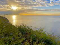 San Pedro wschód słońca Kalifornia USA Obraz Stock