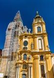 San Pedro y Paul Church en la abadía de Melk en Austria Foto de archivo libre de regalías