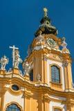 San Pedro y Paul Church en la abadía de Melk en Austria Fotos de archivo libres de regalías