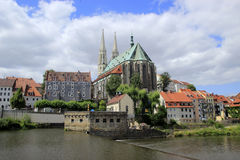 San Pedro y Paul Pfarrkirche en Görlitz Fotos de archivo libres de regalías