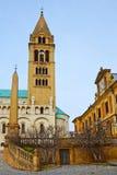 San Pedro y St Paul Baisilica, Pecs, Hungría Imagen de archivo