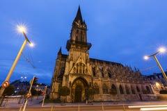 San Pedro y x27; iglesia de s en Caen Fotografía de archivo