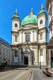 San Pedro y x27; iglesia de s en Viena, Austria Imagen de archivo libre de regalías