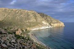 San- Pedrobucht (Cabo De Gata, Spanien) Lizenzfreies Stockfoto