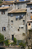 San Pellegrino - Medieval district - Viterbo Stock Image