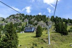 Free San Pellegrino Pass, Moena , Trentino Alto Adige, Alps, Dolomites, Italy: Landscape At The San Pellegrino Pass 1918 M.It`s A Royalty Free Stock Images - 153926959