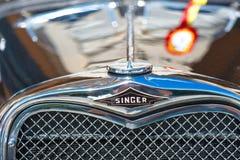 SAN Pellegrino Terme, Ιταλία - 16 Ιουλίου 2017: Εκλεκτής ποιότητας κλασικό αυτοκίνητο Στοκ φωτογραφία με δικαίωμα ελεύθερης χρήσης