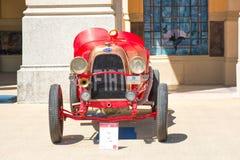 San Pellegrino Terme, Италия - 16-ое июля 2017: Винтажный классический автомобиль Стоковое Фото