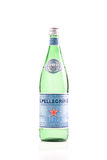 San Pellegrino Water. San Pellegrino Sparkling Natural Mineral Water Royalty Free Stock Images