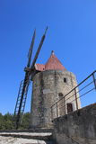 San Peter, Daudet's windmill, France stock photography
