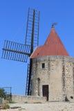 San Peter, il mulino a vento di Daudet in Francia Immagini Stock