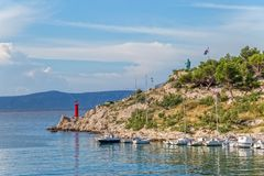 San Peter Makarska Fotografie Stock