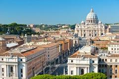 San Peter, Roma, Italy. imagens de stock