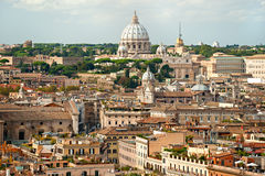 San Peter square, Rome, Italy. Stock Images