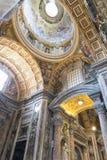 San Peters Basilica del Vaticano Fotografie Stock Libere da Diritti