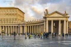 San Peters Square, Roma, Italia Fotografia Stock
