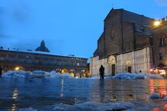 San Petronio in Bologna, Italy Royalty Free Stock Images