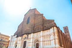 San Petronio Bologna Royalty Free Stock Photography