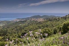 San Piero, small mountain village, Elba, Tuscany, Italy Royalty Free Stock Photo