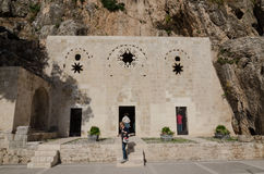 San Pierre Church, Antiochia, Turchia Fotografie Stock Libere da Diritti
