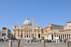San Pietro basilica Stock Images