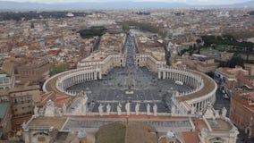 San Pietro Basilica Exterior video d archivio