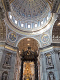 San Pietro Basilica interior Royalty Free Stock Photos