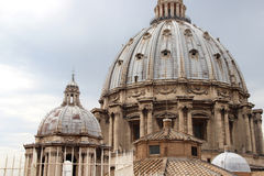 San Pietro castle in Vatican, Rome Royalty Free Stock Photo