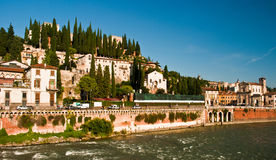 San Pietro Castle, Verona Royalty Free Stock Images