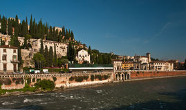 San Pietro Castle, Verona Royalty Free Stock Photos