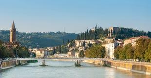 San Pietro Castle, Verona Stock Image
