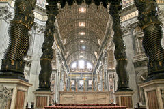 San Pietro Cathedral, Vatican, Italie Photos libres de droits
