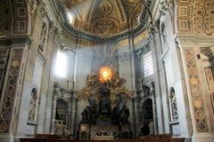 San Pietro Cathedral, Vaticano, Italia Fotografía de archivo