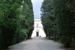 San Pietro Chapel-Ossuary a Solferino Immagini Stock