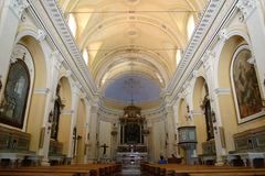 San Pietro Church em Panarea Imagens de Stock Royalty Free