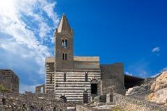 SAN Pietro Church Portovenere - Ιταλία στοκ φωτογραφία με δικαίωμα ελεύθερης χρήσης