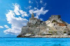 San Pietro Church of Portovenere - Italy Royalty Free Stock Photos