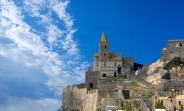San Pietro Church of Portovenere - Italy Royalty Free Stock Photo