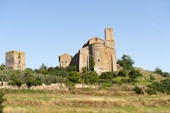 San Pietro church in Tuscania Stock Image