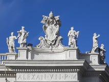 San Pietro colonnato Royalty Free Stock Image