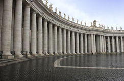 San Pietro dans Vaticano Photos stock