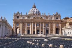 San Pietro, der Vatikan stockbild